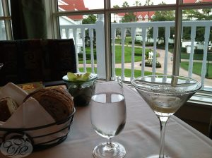 Martini and a View