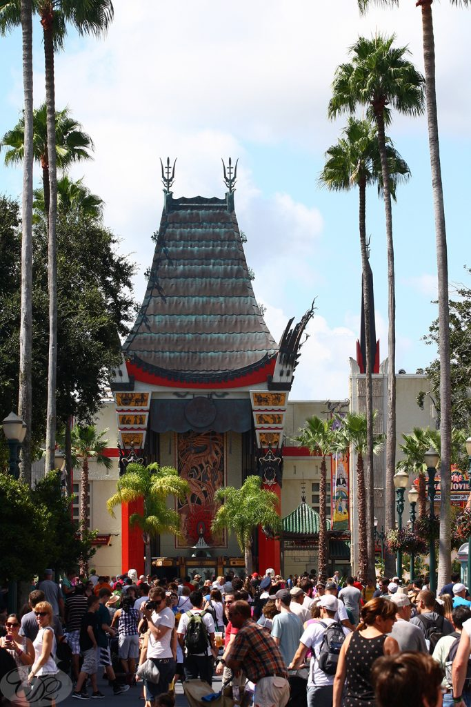The Chinese Theatre—just like in real life