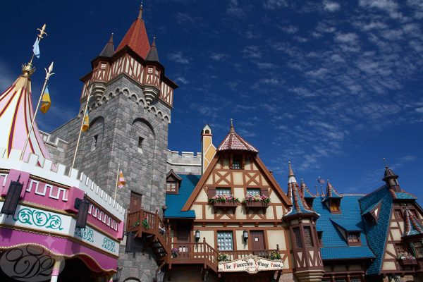 Fantasyland is a very different place in WDW.