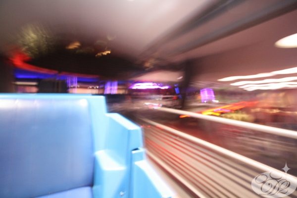Board the PeopleMover in Tomorrowland and ride into the future.