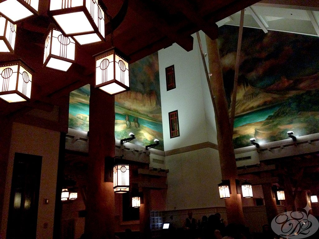 Artist Point Restaurant at The Wilderness Lodge Hotel