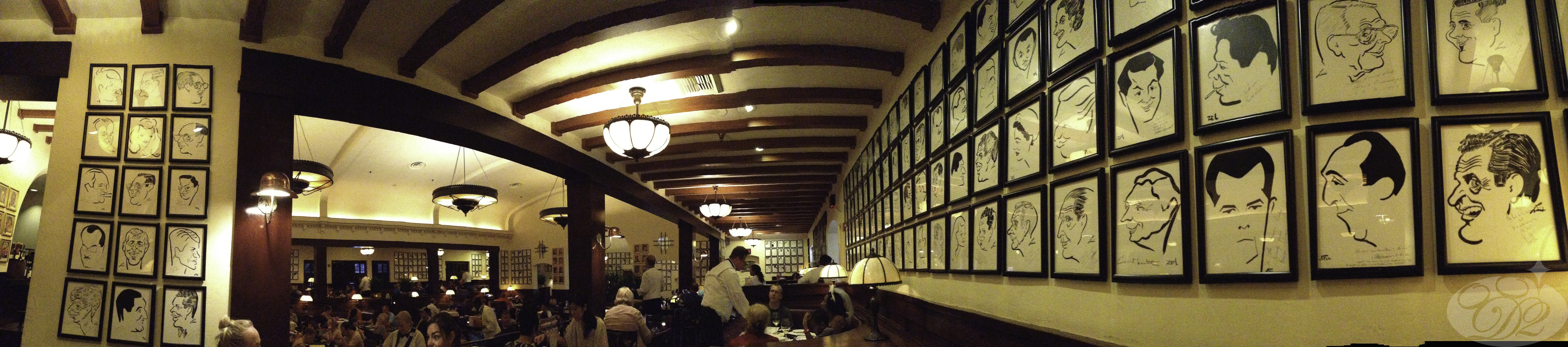 Full-Service Dining at the WDW Hollywood Brown Derby