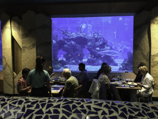 Full-Service Dining at Epcot's Coral Reef