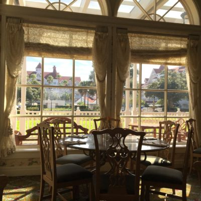 Full-Service Dining at the Grand Floridian Cafe