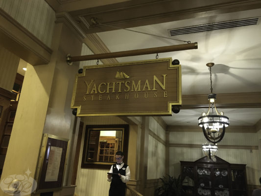 Full-Service Dining at the Yachtsmen Steakhouse