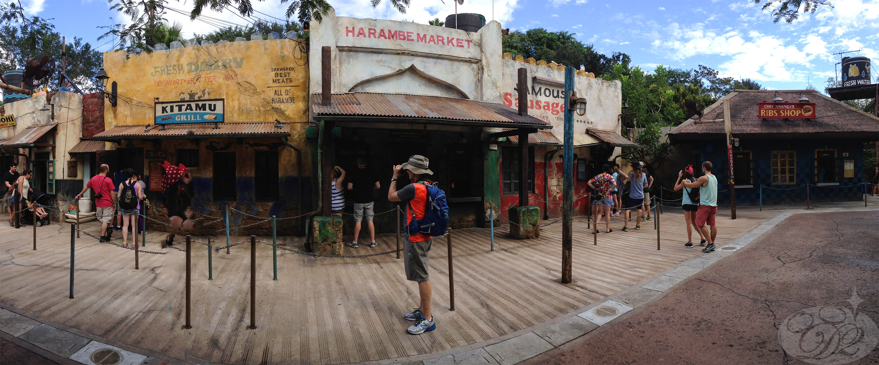 Quick-Service at Harambe Marketplace (Africa, Animal Kingdom)