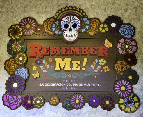 Remember Me exhibit at Epcot Mexico