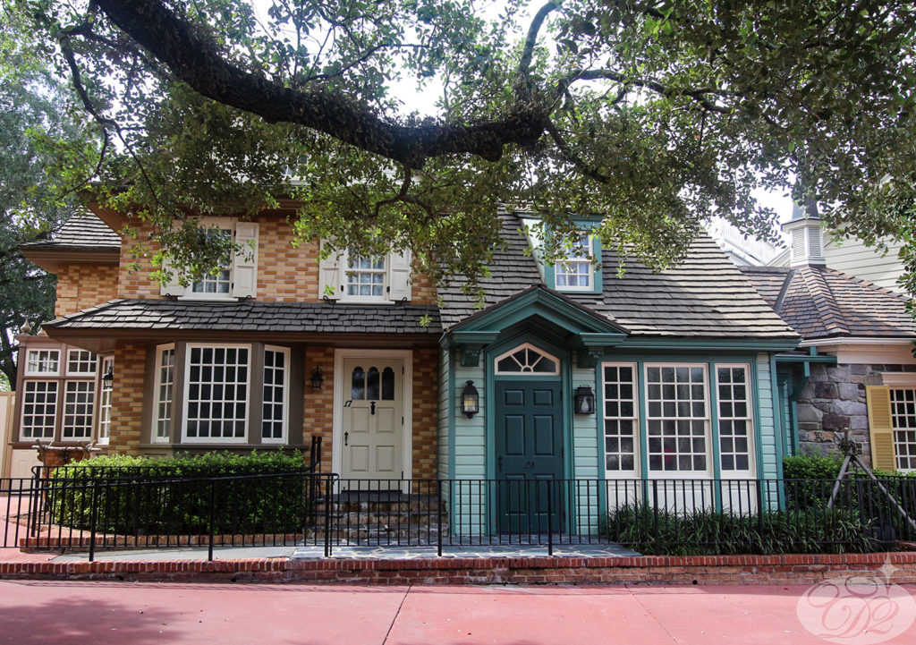 Disney Home - The Magic Kingdom's Liberty Square has the most number of single-family homes among all the lands in the kingdom.